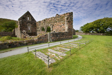 Iona Nunnery Ruins, Inner Hebrides, Scotland