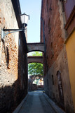 Alley in the Polish city of Toruń
