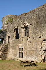 château de Villandraut en Gironde