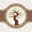 Olive vector tree
