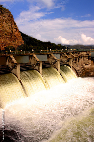 Water release at dam wall - 35001556