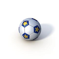Fußball Soccer Europa freigestellt Schatten