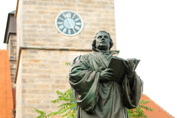 Martin Luther in Erfurt
