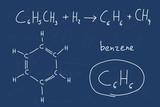 Chemistry - benzene poster