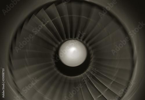 jumbo jet engine