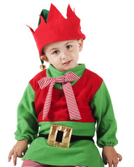 Young Christmas Elf