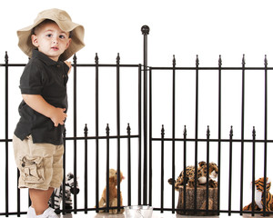 Young Zoo Keeper