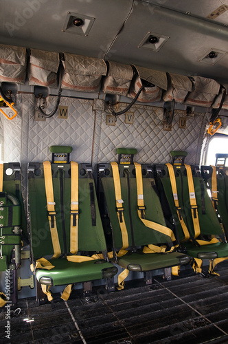 helicopter seating