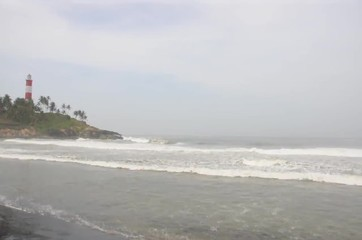 Kovalam Beach near Trivandrum, India