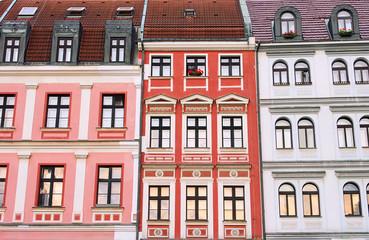 Liberec Hausfassaden - Liberec facade 01