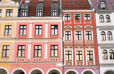 Liberec Hausfassaden - Liberec facade 02