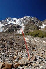 summer view of Monte Rosa