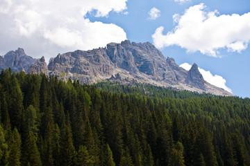 Fantastico panorama delle montagne di Auronzo di Cadore