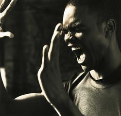 """""""Angry, shouting man"""""""