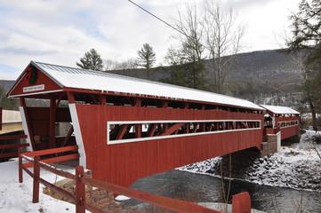 Twin Covered Bridges