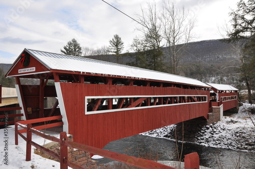 Twin Covered Bridges