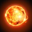 Fototapete Astronomie - Sonnensystem - Hintergrund