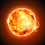 Fototapeta astronomia - układ słoneczny - Tła