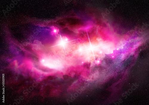 Weltraumnebel - Interstellare Wolke