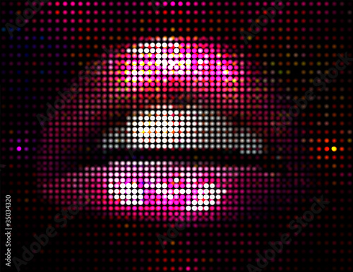 Vector Lips Illustration