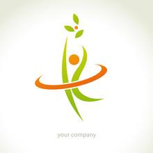 logo forme, logo santé, logo bien-être