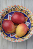 Mexican mangoes in bowl