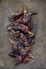 Dried red chilies