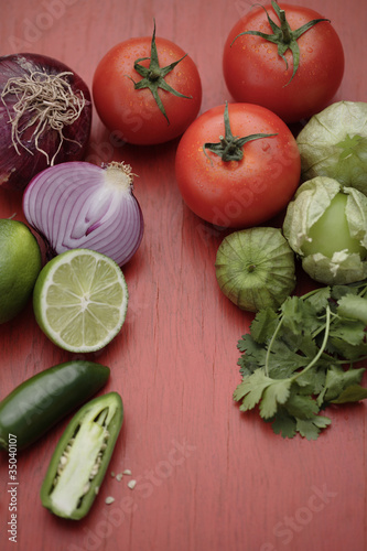 Salsa ingredients