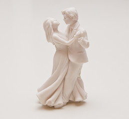 Statuette dancing couples