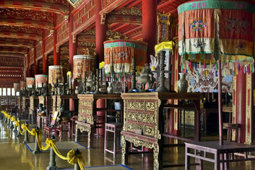 Ornate Vietnamese shrine