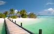 Fototapeten,maldives,strand,brücke,web