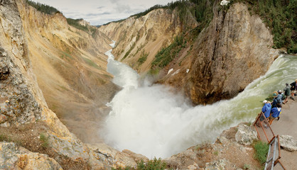 Lower Falls, Yellowstone National Park, USA