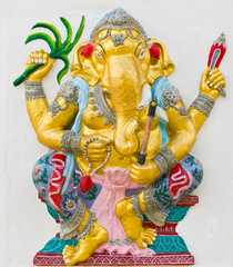 Indian God Ganesha or Hindu God Name Yoga Ganapati avatar