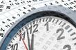 Leinwandbild Motiv Deadlines and time