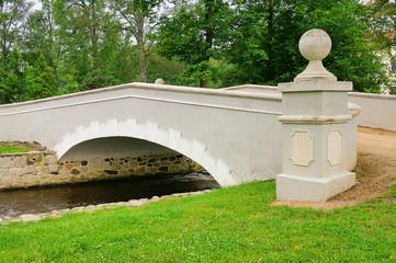 Ostrov Weisse Bruecke - Ostrov white bridge 01