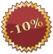 étiquette -10%