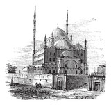 Mosque of Muhammad Ali or Alabaster Mosque, in the Citadel of Ca