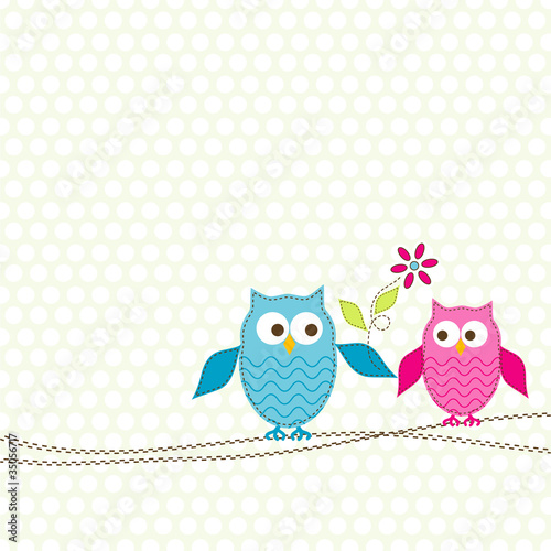 Template greeting card, vector © Tolchik