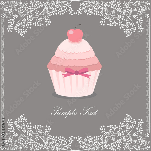 beautiful cupcake design