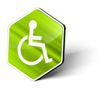 Wheel Chair Button