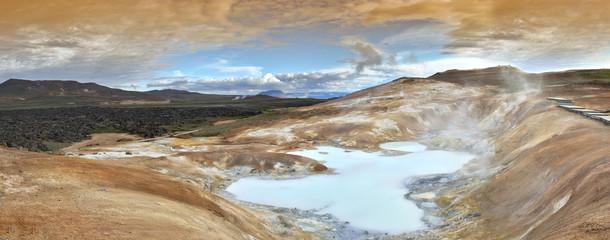 Panorama de Myvatn