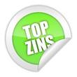 button aufgedreht top-zins 1