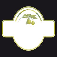 Etichetta per l'olio di oliva extra vergine