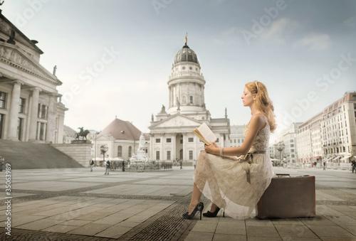 Fototapeten,reisen,geschichte,europa,frau