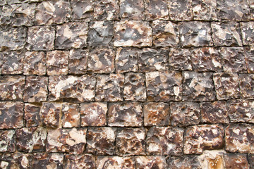 Knapped Flint Wall 8940