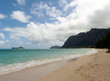 Waimanalo Beach on Oahu, Hawaii