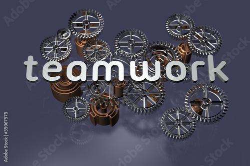 Teamwork - 3D