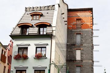 Wohnhaus wird renoviert