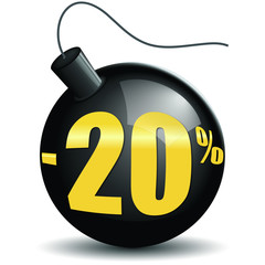 Bombes promotions -20%