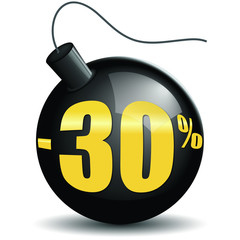 Bombes promotions -30%